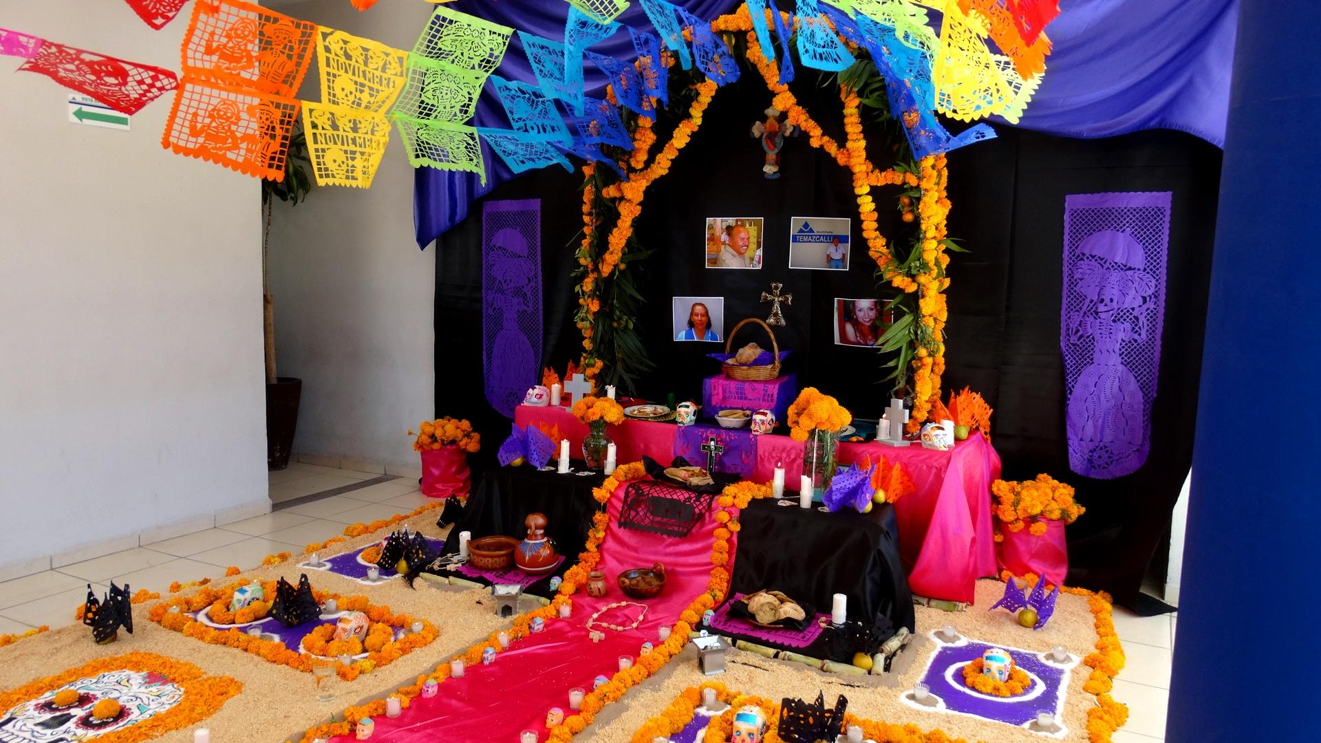 Dependencias Participan En Concurso De Altar De Muertos