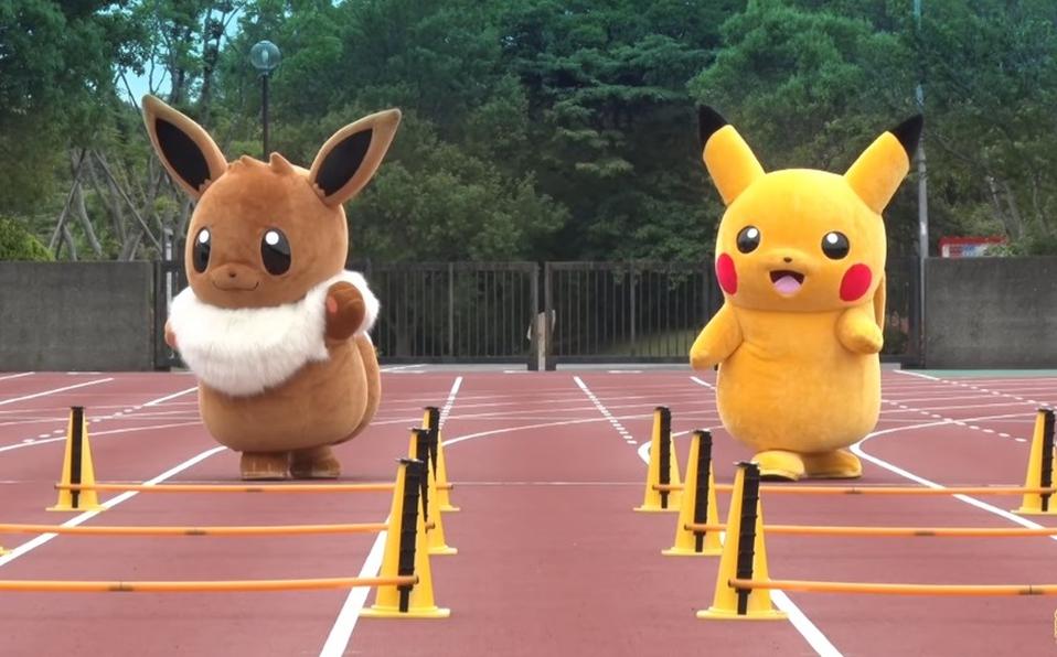Esta competencia de botargas es mejor que Pokémon Go?