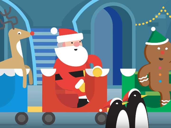 Google Lanza Santa Tracker Y Juegos Virtuales Navidenos